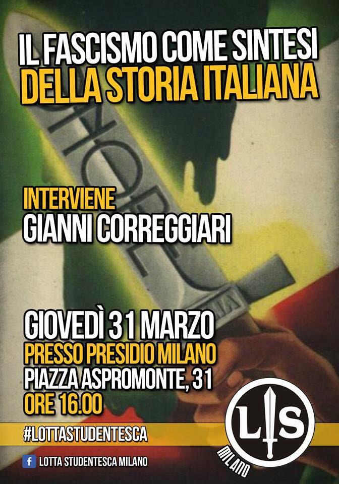 Il Fascismo come sintesi della storia italiana
