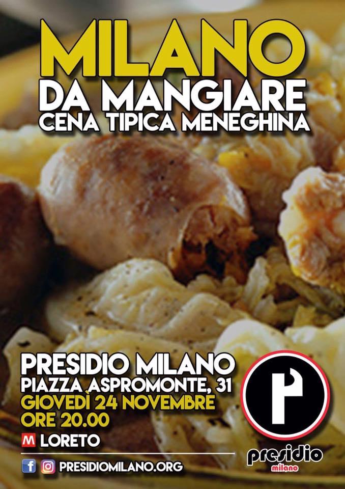 Milano da mangiare